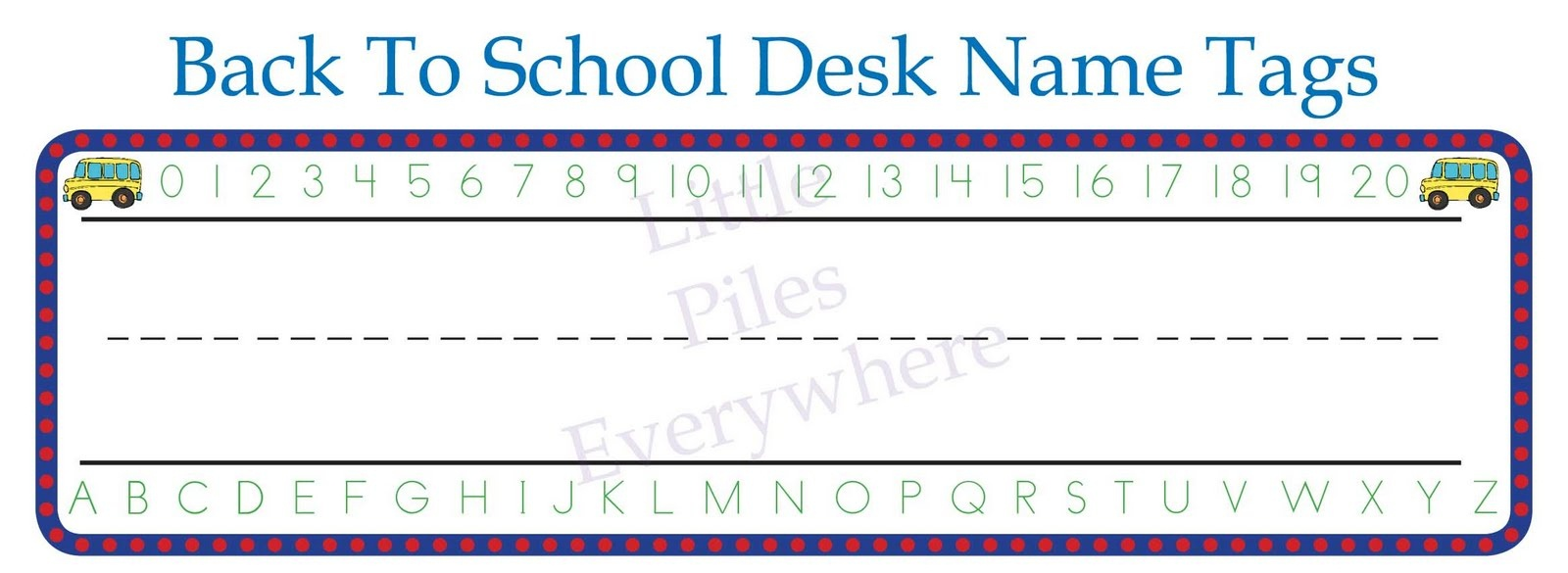 School Desk Tags Back+To+School+Name+Boards | Tag Universe - Free Printable Desk Name Plates For Students