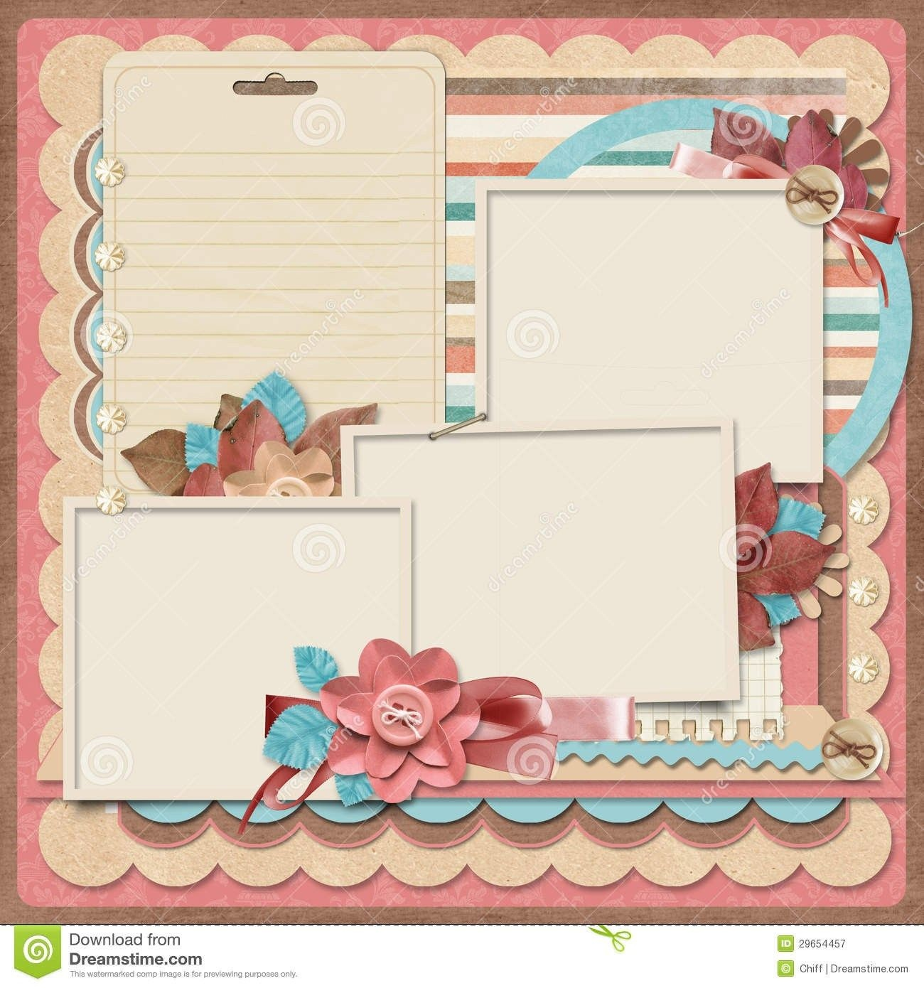 Scrapbook Printables Templates Free Scrapbook Templates - Baby Scrapbook Templates Free Printable