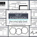 Self Expression Through Writing & Art  Free Self Esteem Worksheets   Free Printable Classroom Worksheets