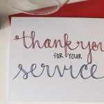 Send A Thank You Card To Our Troops | School | Veterans Day Gifts   Free Printable Thank You Cards For Soldiers