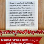 Serendipity Refined Blog: Little Houses Poem Canvas Wall Art: Free   Free Printable Romantic Poems