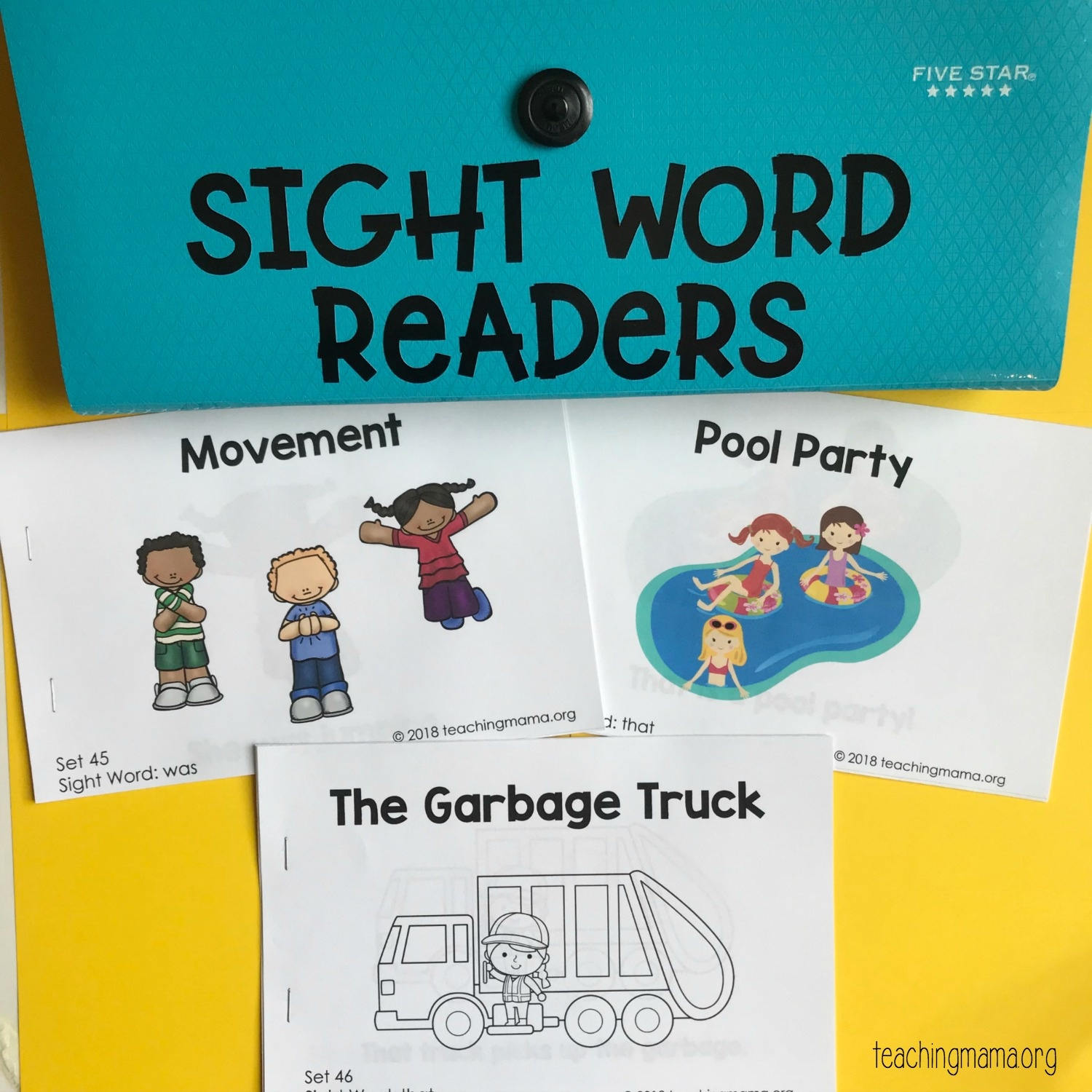 Sight Word Readers - Free Printable Decodable Books For Kindergarten