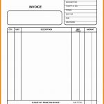 Simple Free Printable Invoices Invoice Template Basic Form Design   Free Printable Invoice Forms