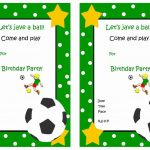 Soccer Free Printable Birthday Party Invitations | Birthday Party   Free Printable Soccer Birthday Invitations