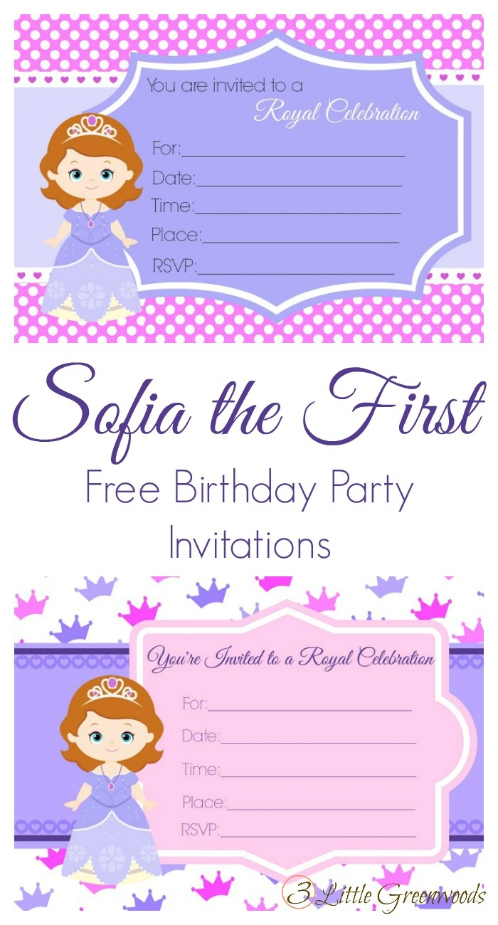 Sofia The First Birthday Party - Free Printable Sofia Cupcake Toppers
