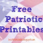 Some Of The Best Things In Life Are Mistakes: Free Patriotic Printables   Free Printable Patriotic Writing Paper