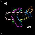 Square Lite Brite Design Refills: Things That Go | Lite Brite   Lite Brite Printable Patterns Free
