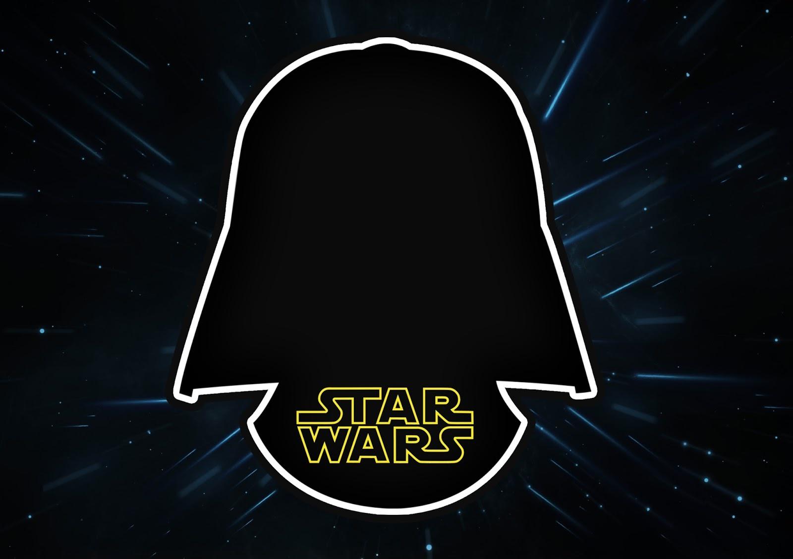 Star Wars: Free Printable Invitations. - Oh My Fiesta! For Geeks - Star Wars Invitations Free Printable