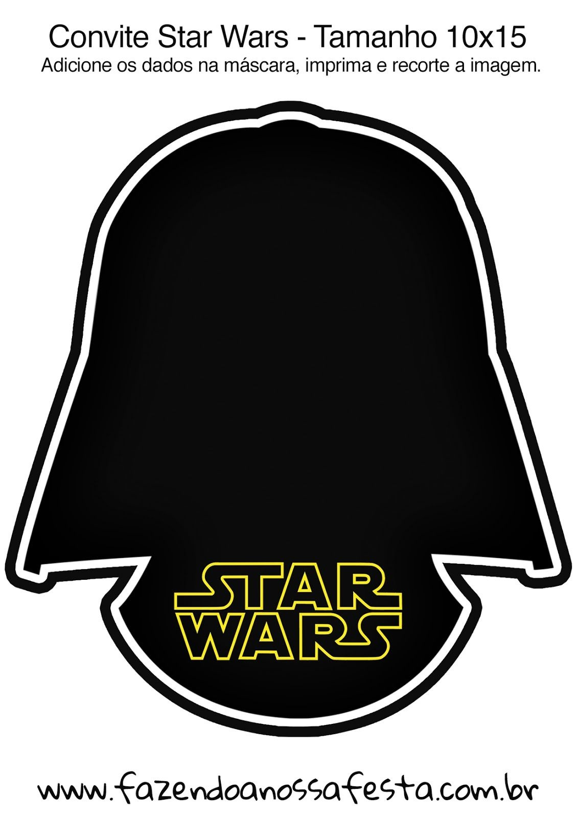 Star Wars: Free Printable Invitations.   Star Wars Party   Star Wars - Star Wars Invitations Free Printable