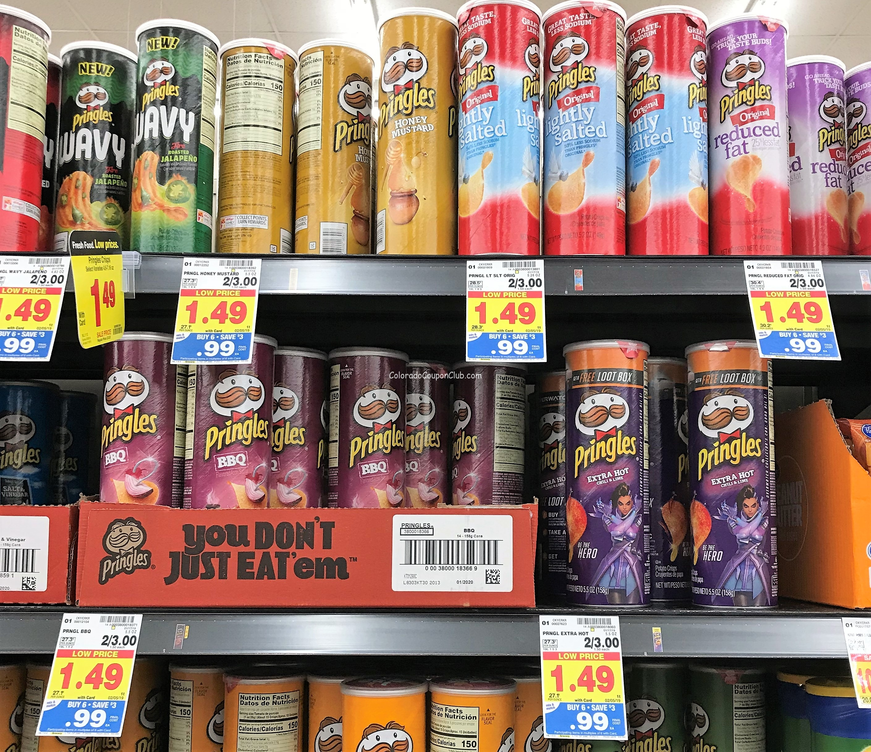 Stock Up! Pringles, Only $0.75 During The Mega Event At King Soopers - Free Printable Pringles Coupons