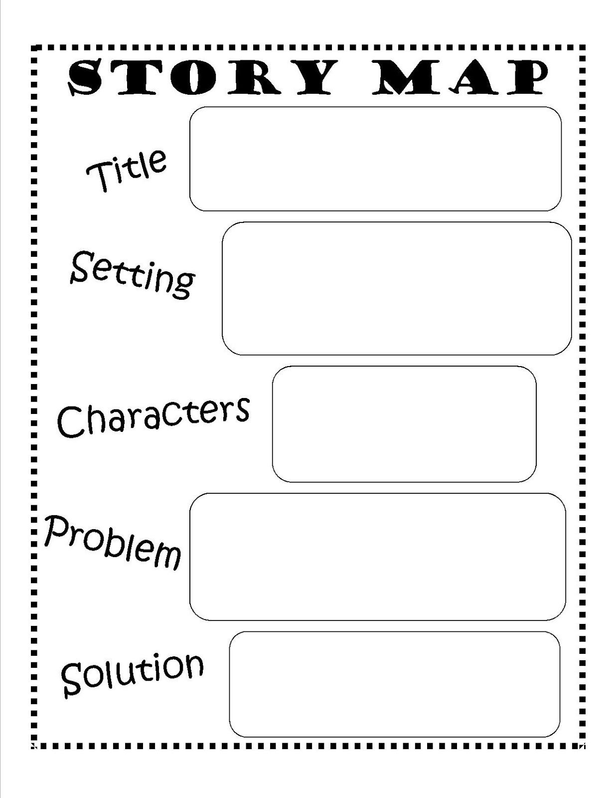 Story Map - Free Printable #reading #writing #kids | Ela | Story Map - Free Printable Main Idea Graphic Organizer