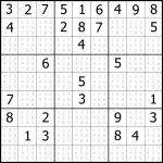 Sudoku Printable | Free, Medium, Printable Sudoku Puzzle #1 | My   Free Printable Sudoku