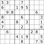 Sudoku   Wikipedia   Free Printable Sudoku