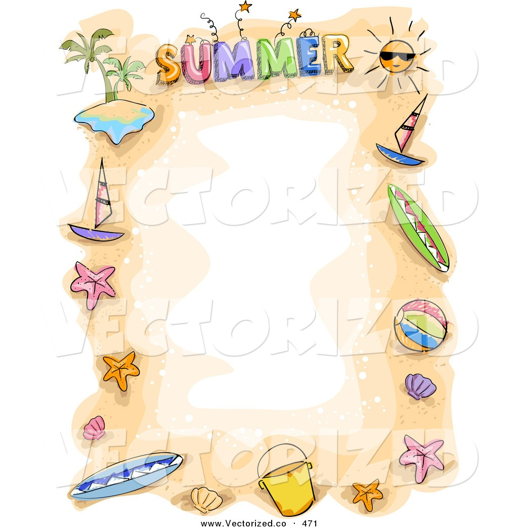 Summer Border Clip Art & Look At Clip Art Images - Clipartlook - Free Printable Summer Borders