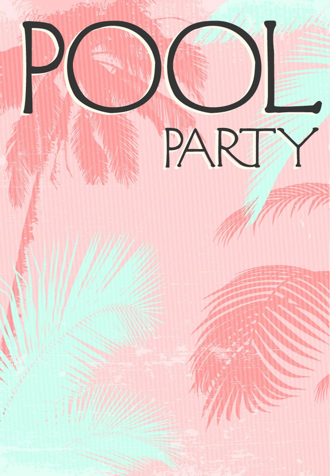 Summer #party Invitation - Free #printable Fun In The Sun - Free Printable Pool Party Invitation Cards