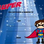 Super Certificate! A Blank Kids Certificate Template. Can Enter Your   Free Printable Superhero Certificates