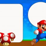 Super Mario Bros Free Party Printables And Invitations.   Oh My   Free Printable Super Mario Bros Invitations