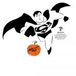 Superman, Batman, Wonder Woman & Dc Comics Villains Pumpkin Stencils   Superhero Pumpkin Stencils Free Printable