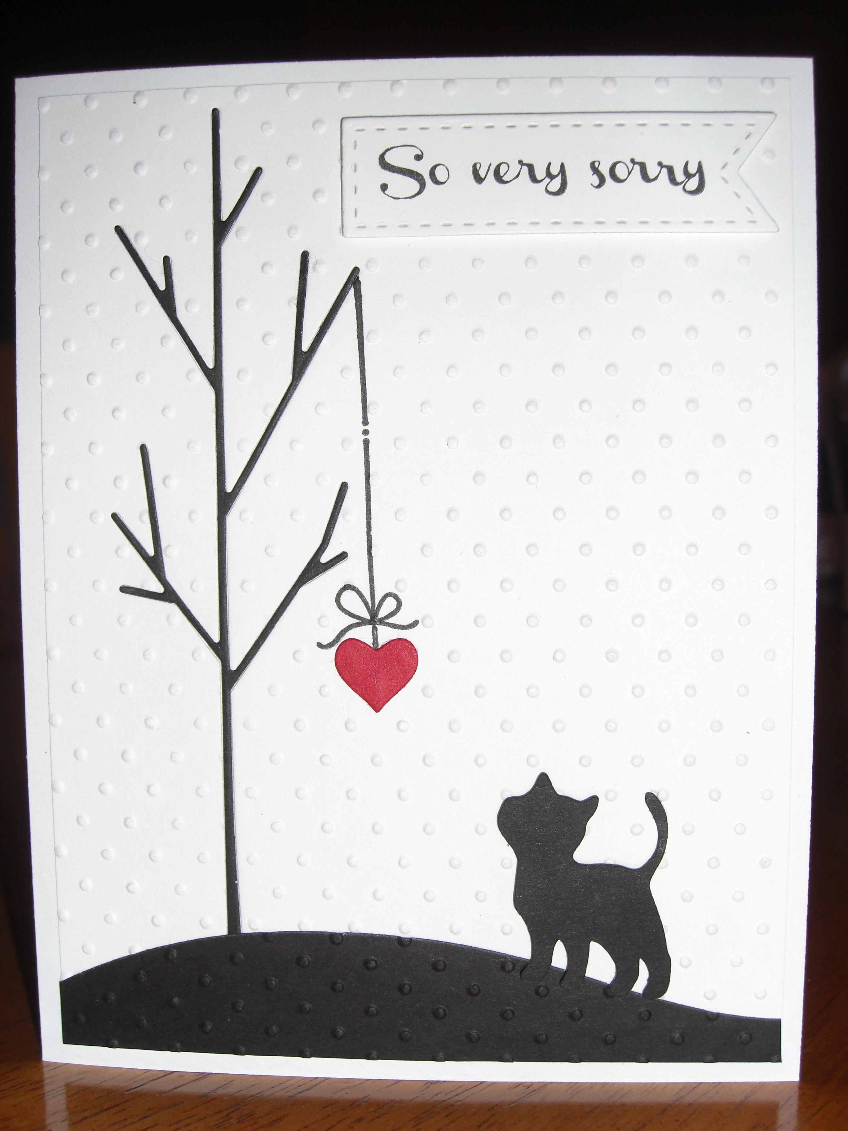 Sympathy Card For Loss Of Family Pet: Simon Says Stamp Tree Die - Free Printable Sympathy Cards For Dogs