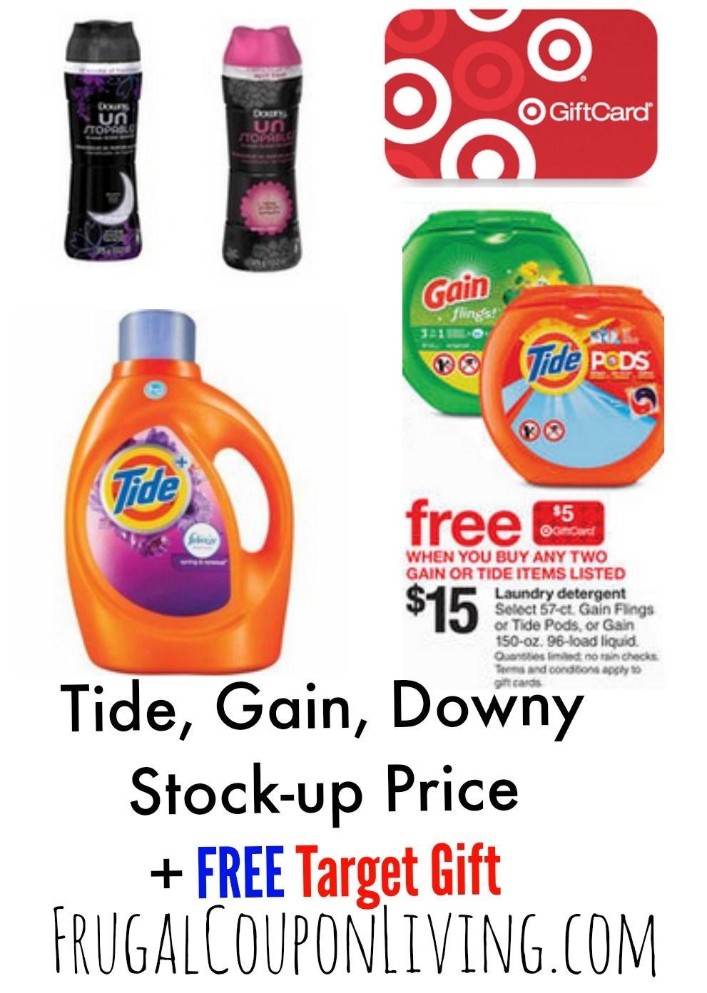 Target Laundry Detergent Deals + Tide & Downy Printable Coupons - Free Detergent Coupons Printable
