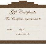 Tattoo Gift Certificate Template   Cliparts.co   Free Printable Tattoo Gift Certificates