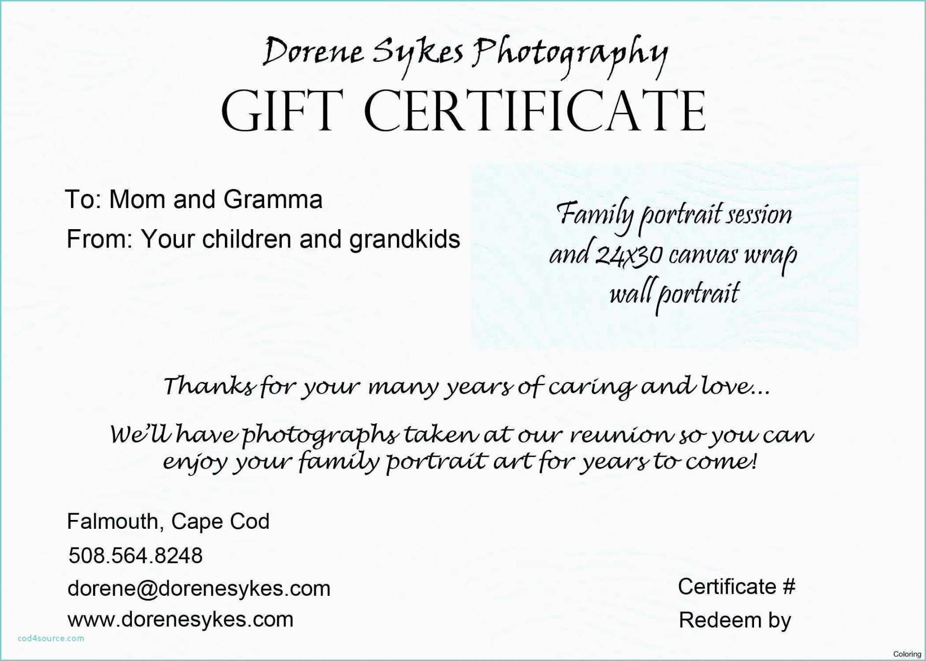 Tattoo Gift Certificate Template Free | Emetonlineblog - Free Printable Tattoo Gift Certificates