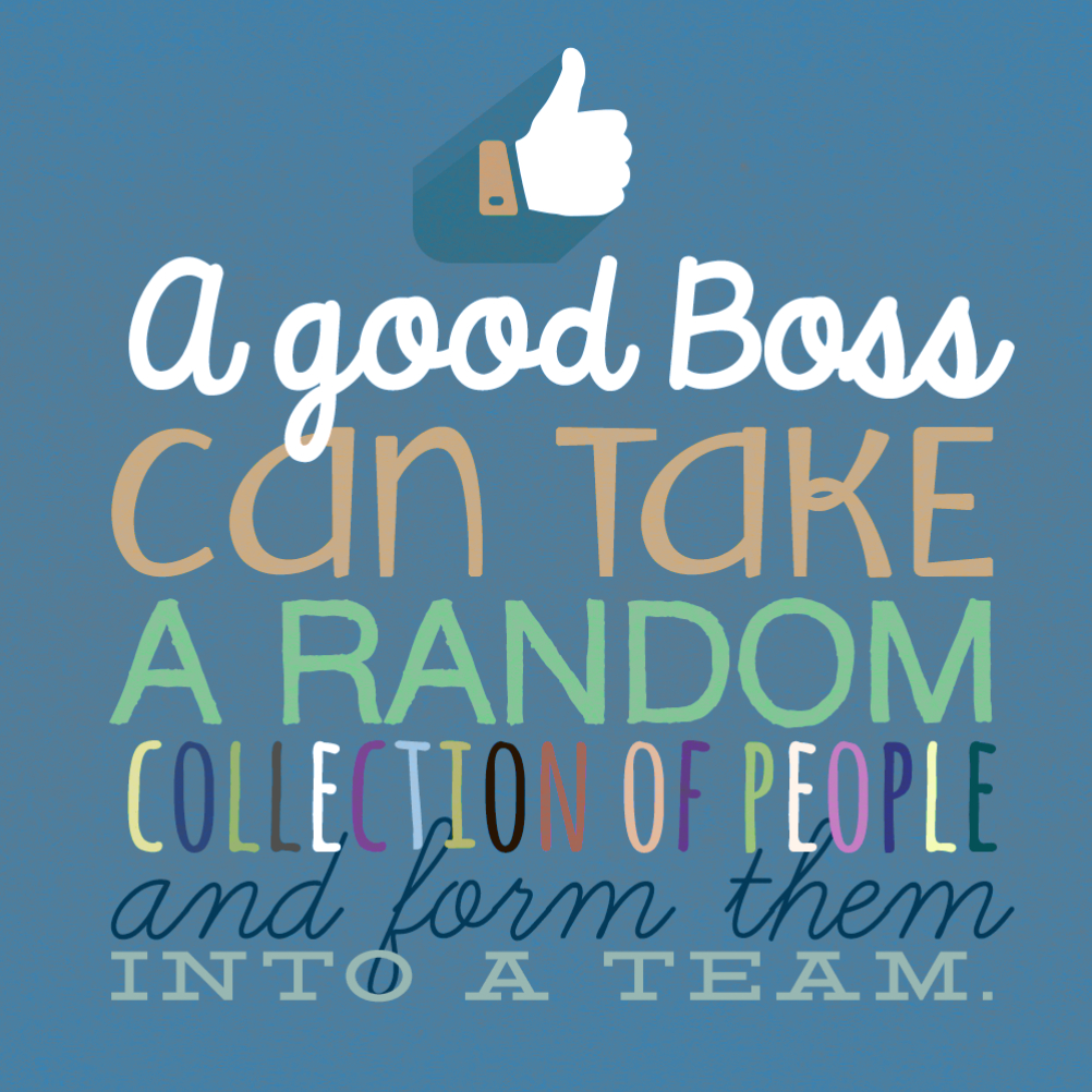 Teamwork - Boss Day Card (Free) | Greetings Island - Free Printable Funny Boss Day Cards