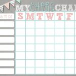 Teens Chore Charts Free Printable | Btw They Are 8.5X11 Size! Thanks   Free Printable Teenage Chore Chart