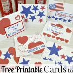 Thank A Veteran Cards Free Printable   Organized 31   Free Printable Thank You Cards For Soldiers