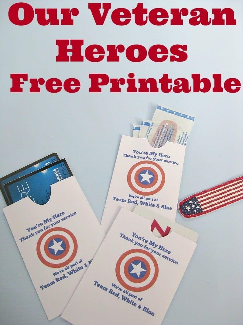 Thank A Veteran Cards Free Printable - Organized 31 - Free Printable Thank You Cards For Soldiers