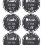 Thank You & Teacher Appreciation Tags Free Printable   Paper Trail   Free Printable Tags For Teacher Appreciation