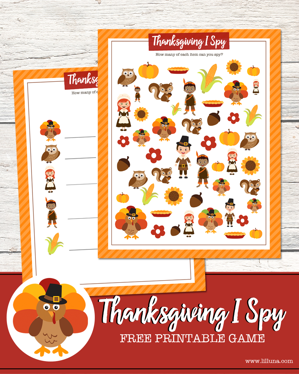 Thanksgiving I Spy Print | Thanksgiving Ideas | Thanksgiving - Free Printable Thanksgiving Games For Adults