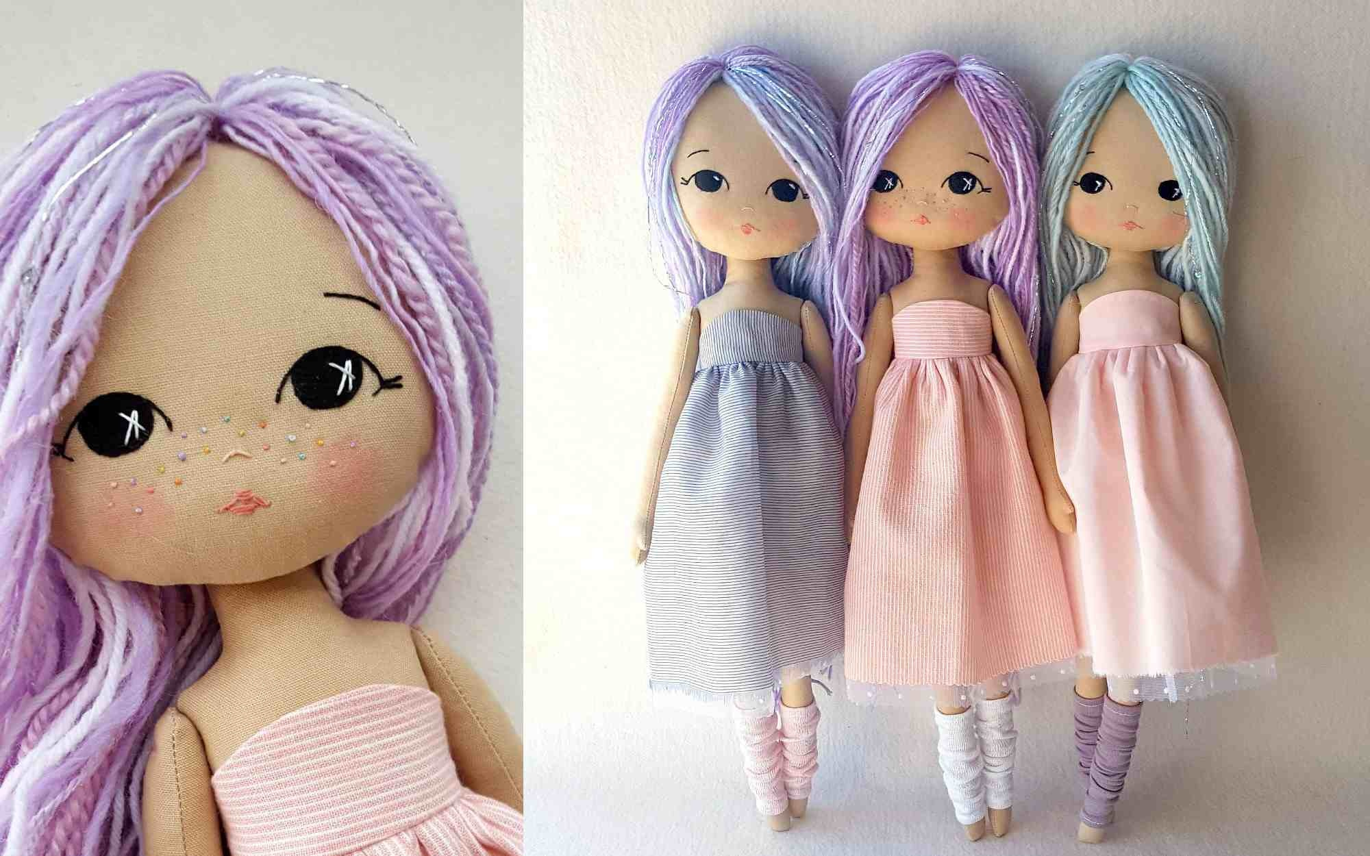 The 22 Best Doll Sewing Patterns - Free Printable Rag Doll Patterns