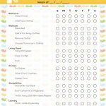 The Best Free Printable Cleaning Checklists   Sarah Titus   Free Printable House Cleaning Checklist