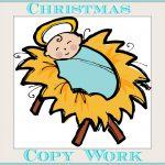 The Christmas Story Free Printable For Copywork Great For   Free Printable Nativity Story