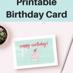 The Cutest Free Printable Birthday Card Ever | Semigloss Design Blog - Free Printable Birthday Cards For Her
