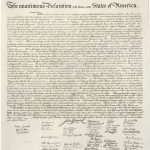 The Declaration Of Independence Complete Full Text High Resolution   Free Printable Copy Of The Declaration Of Independence