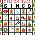 The Kurtz Corner: Free Printable Christmas Bingo Cards | Winter / X   Free Printable Christmas Bingo