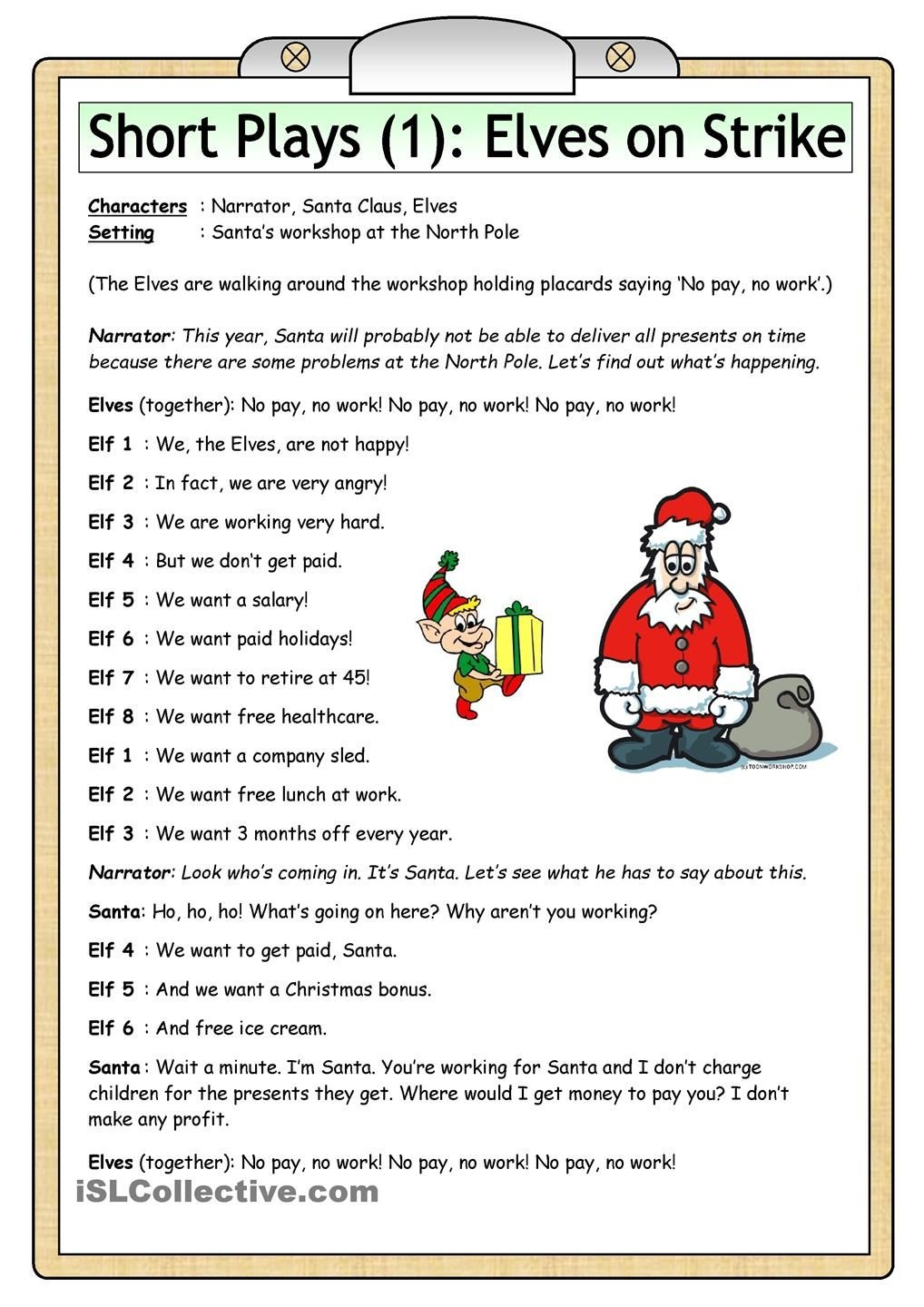 The Poem Is Followeda Short Abc Song Time 3 5 Minutes. Pictures - Free Printable Christmas Plays Church