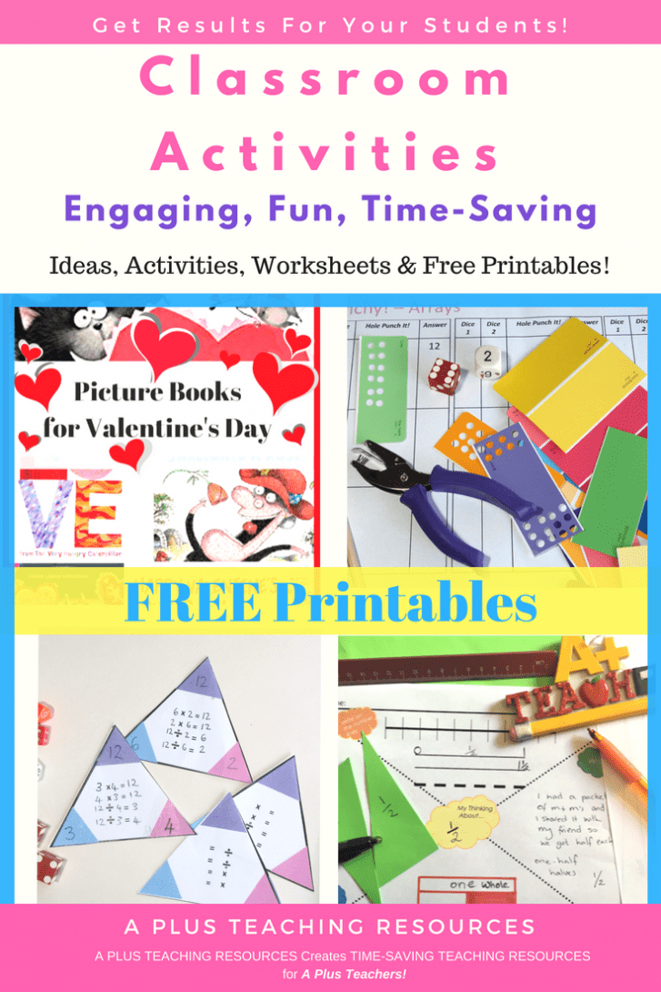 The Ultimate Collection Of Free Teacher Worksheets For Primary - Free Printable Classroom Worksheets