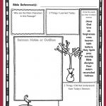 These Free Printable Sermon Notes Pages Include A Sunday Morning   Free Printable Easter Sermons