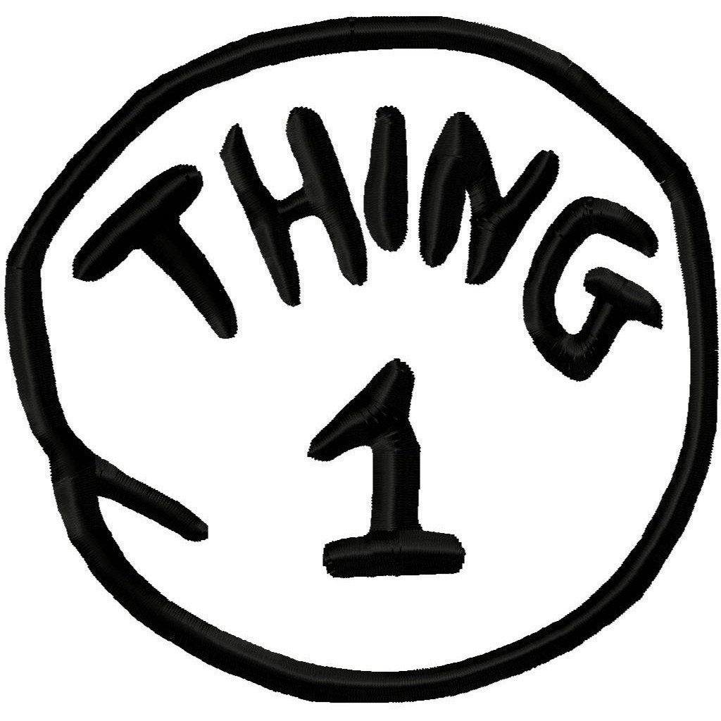 Thing 1 Thing 2 | Request A Custom Order And Have Something Made - Thing 1 And Thing 2 Free Printable Template