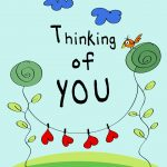Thinking Of You   Love Card (Free) | Greetings Island   Free Printable Love Greeting Cards