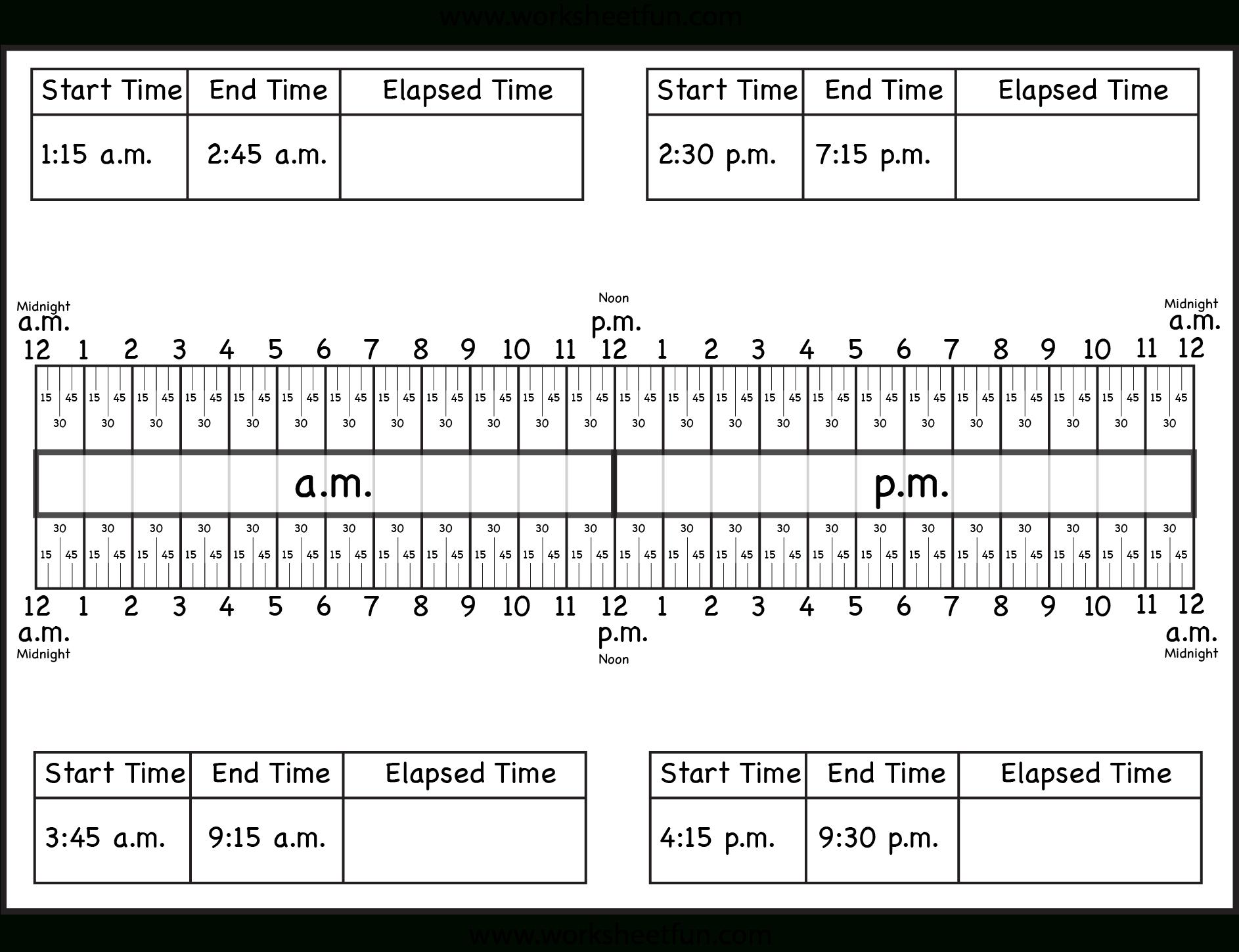 Time / Free Printable Worksheets – Worksheetfun - Free Printable Telling Time Worksheets