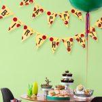 Tmnt Printable Pizza Pendant Birthday Banner | Nickelodeon Parents   Free Printable Ninja Turtle Birthday Banner