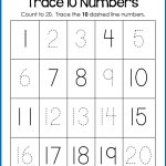 Trace Numbers 1 20, Write And Fill In The Numbers, Too | Number   Free Printable Numbers 1 20 Worksheets
