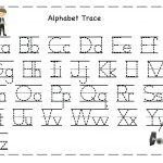 Tracing Letters For Toddlers Tracing Name Template Alphabet   Free Printable Traceable Letters