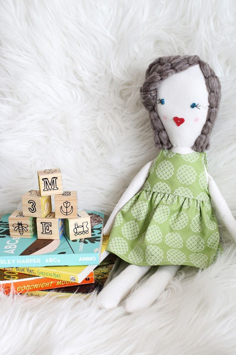 Traditional Rag Doll Diy | Crafts And Stuffed Creations | Diy Rag - Free Printable Rag Doll Patterns