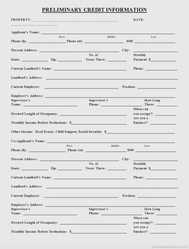 Free Printable Credit Report