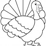 Turkey Coloring Page   Free Large Images | Adult And Children's   Free Printable Pictures Of Turkeys To Color